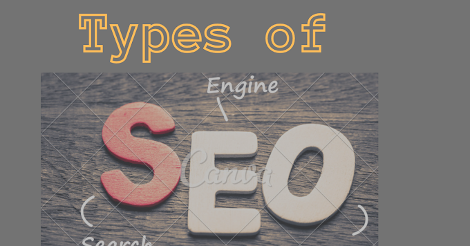 Types of SEO in digital marketing in 2021-Fully explained