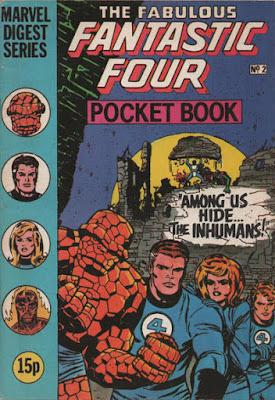 Fantastic Four Pocket Book #2, the Inhumans