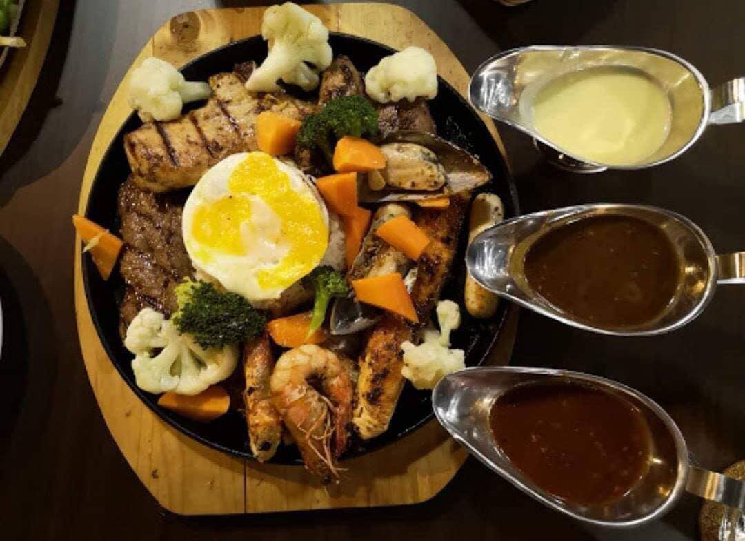 Wadihana Islamic Steak House at Damansara Aliff, 99 stik percuma, giveaway, June Talib, Rawlins Eats, Makan stik di Johor BAhru