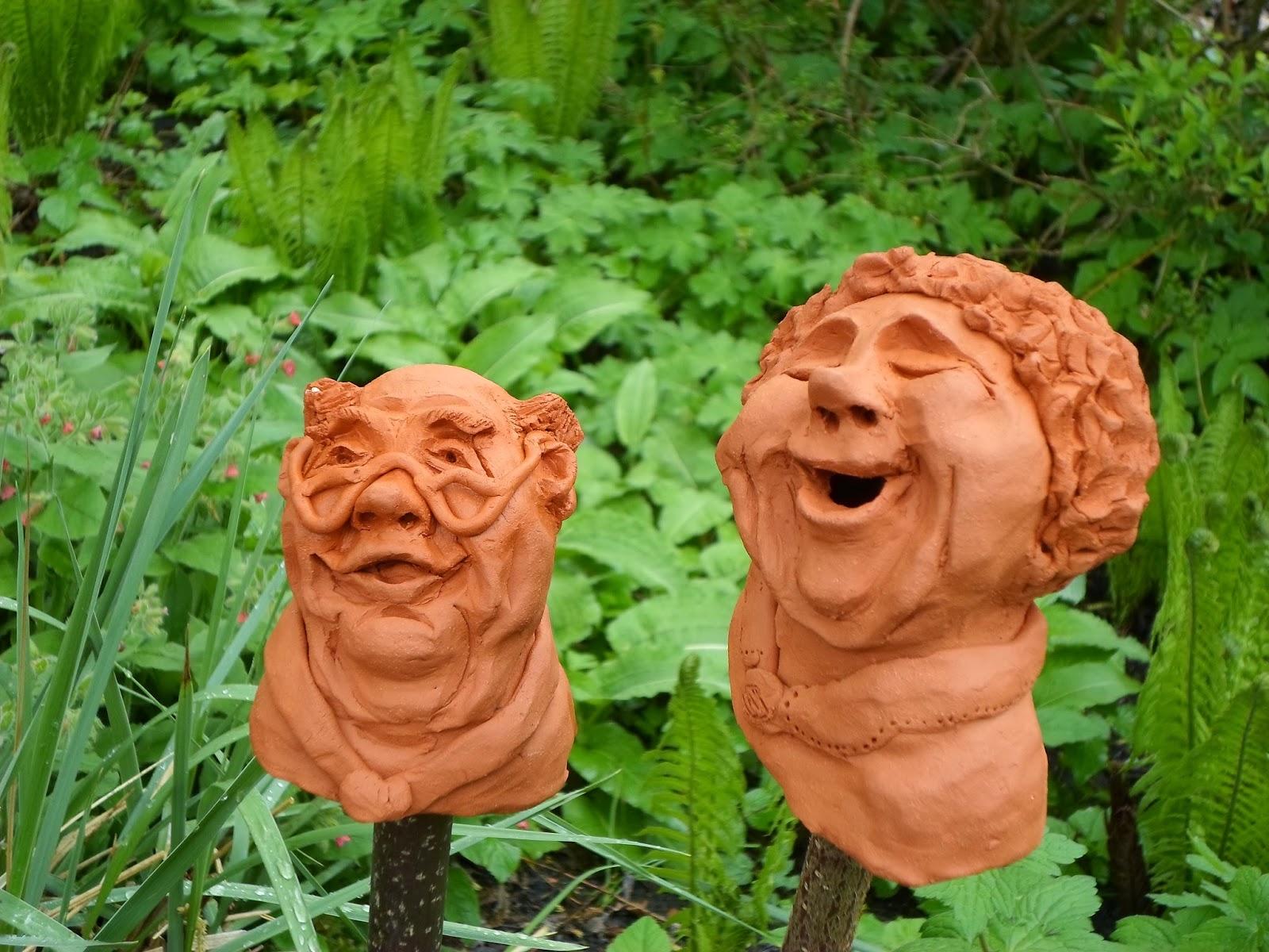 Bines Tonfiguren Für Haus Garten September 2014