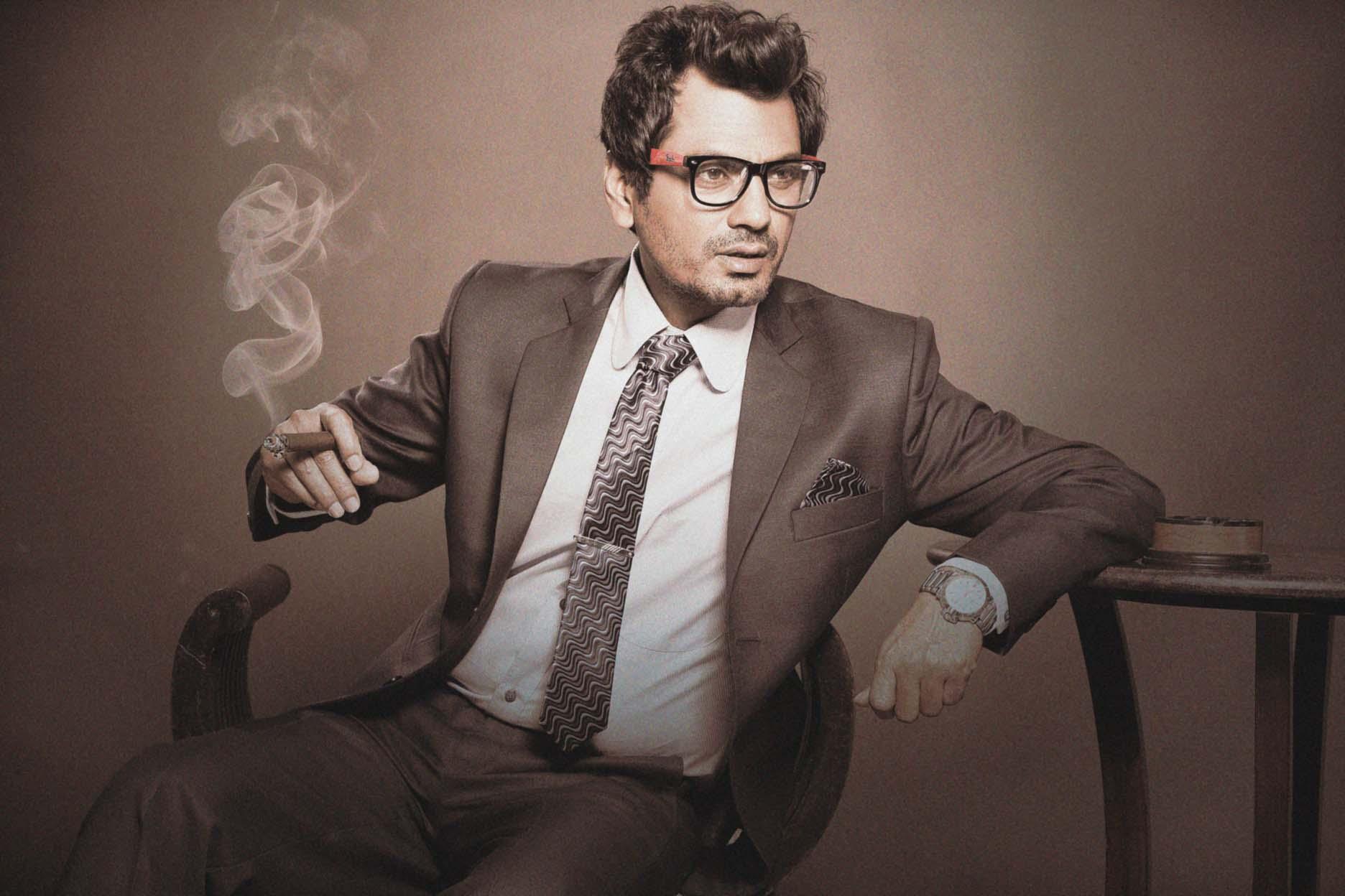 Nawazuddin Siddiqui smoking photo