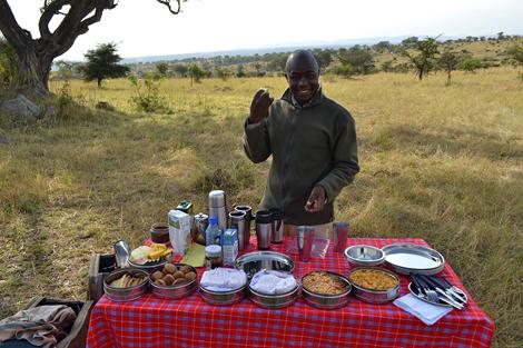 Good Morning Serengeti Nomad Tanzania