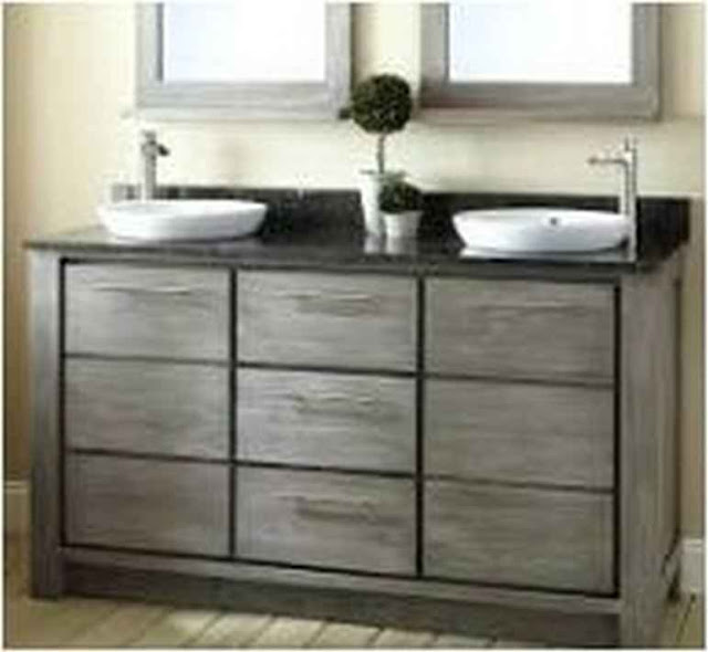 Wood Bathroom Vanities Miami BV TOP1