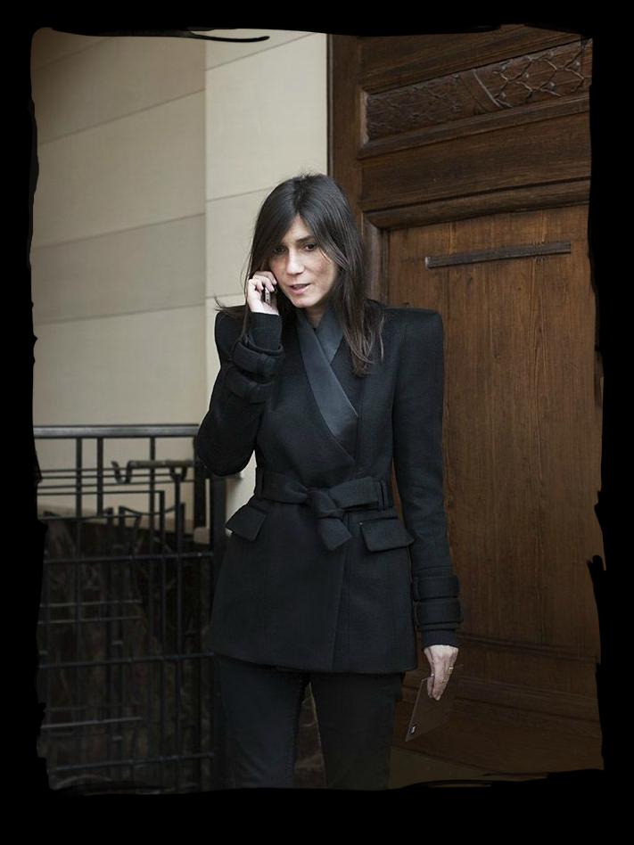 """Emmanuelle Alt Style Du Monde: Have Some Decorum: """"I Am Super French.""""- Emmanuelle Alt"""