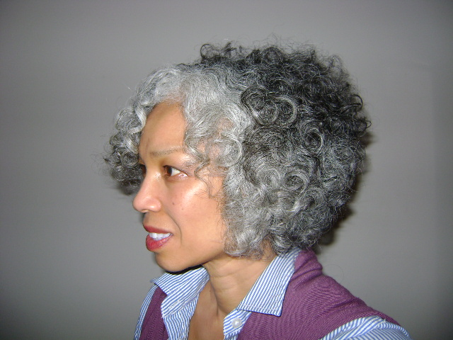 Styles For Grey Hair: Naturally Beautiful Hair: Link Of The Day! Gorgeous Teruko
