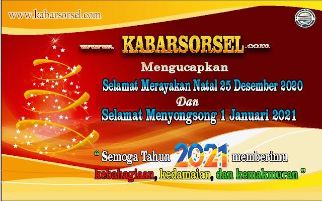 KABARSORSEL.com ; Mengucapkan Selamat  Natal dan Tahun Baru