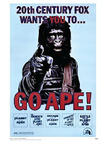 Planet of the Apes Saga Poster Collection