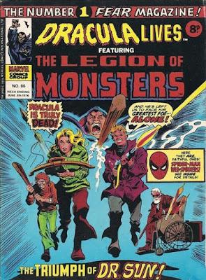 Marvel UK, Dracula Lives #86