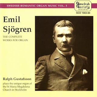 E.SJÖGREN: Complete Works for Organ