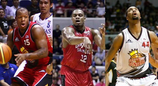 LIST: Ginebra Best Import Awards PBA History