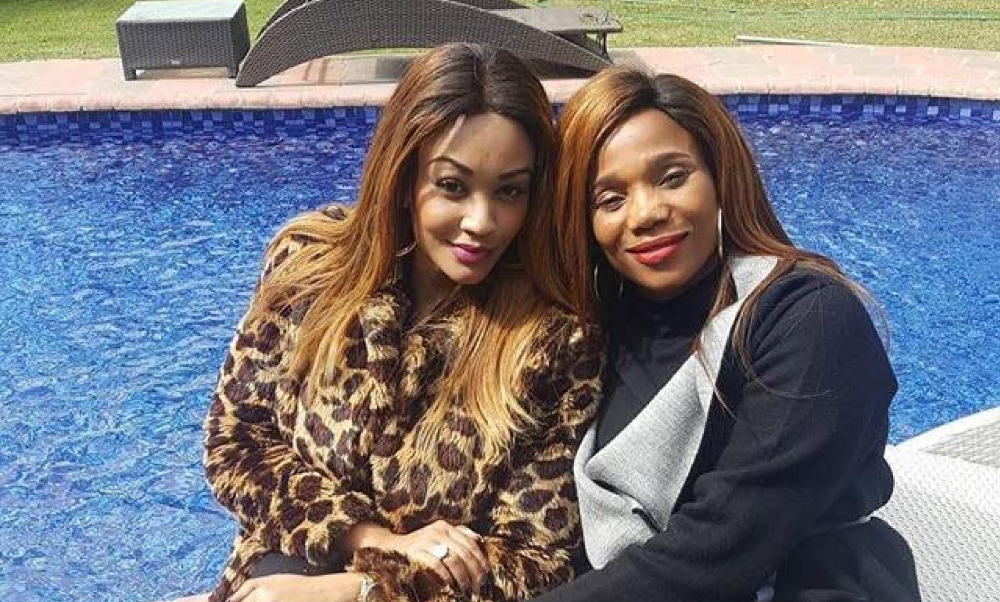 Zari Hassan and Zodwa Mkandla