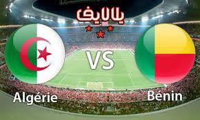مشاهدة مباراة الجزائر وبنين