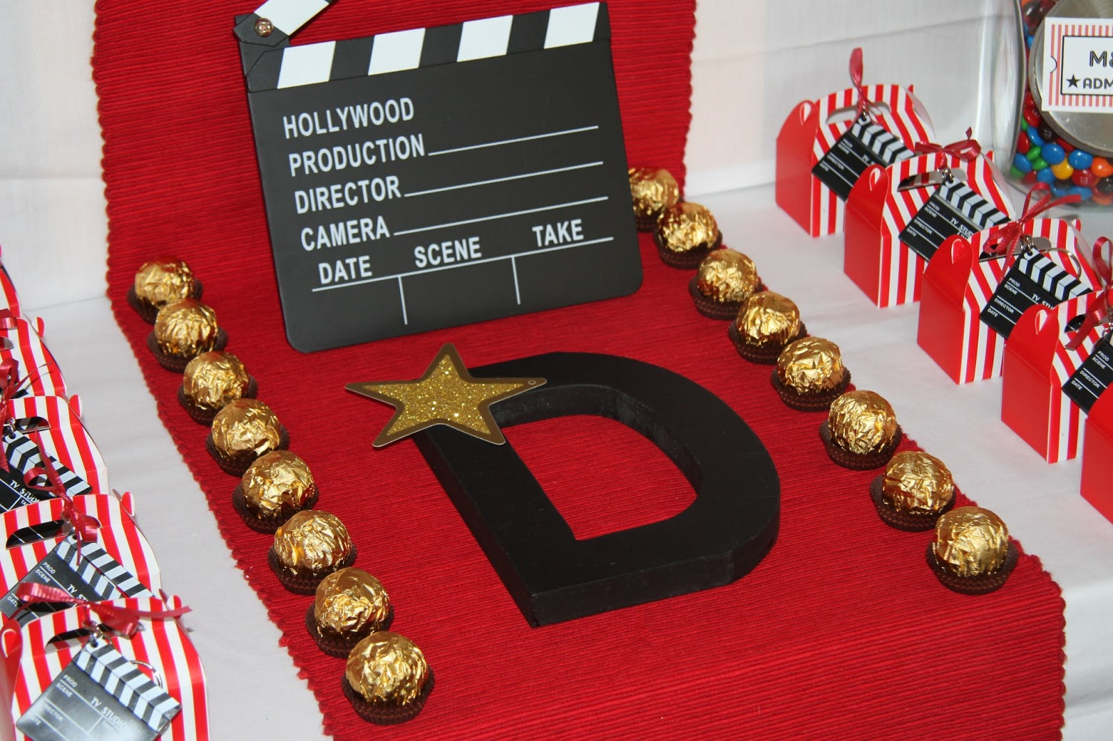 Movie Popcorn Birthday Cake