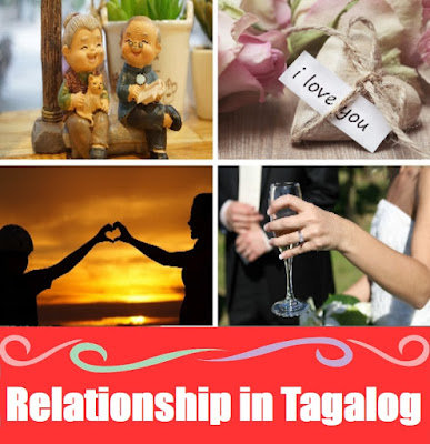 Relationship Word List in Tagalog