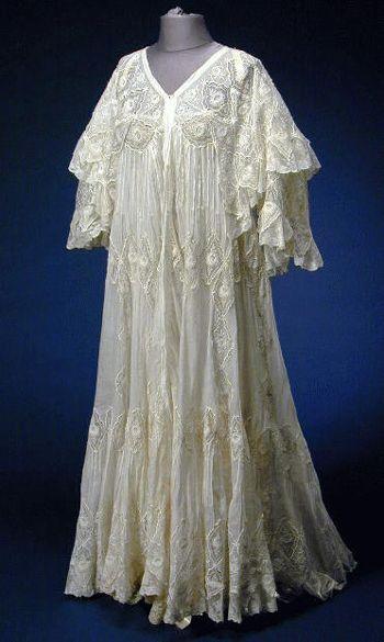 Camisola de 1912, semelhante a usada no filme Titanic por Rose (Kate Winslet)