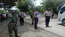 Operasi Yustisi, Polsek Birem Bayeun Gencar Lakukan Himbauan