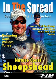 in the spread sheepshead fishing dvd