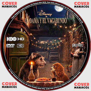 GALLETA 2 LA DAMA Y EL VAGABUNDO - LADY AND THE TRAMP 2019[COVER DVD]