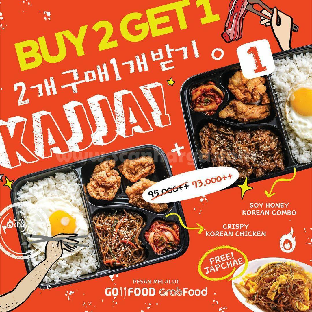 Promo Pochajjang Paket KAJJA! Special BUY 2 GET 1 FREe