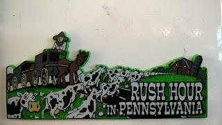 Souvenirs for sale in the Allentown, Pennsylvania I-78 service area.