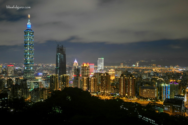 Taipei Nightscape Skyline
