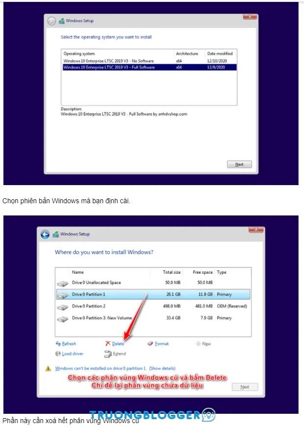 Windows 10 Pro 21H1 AIO 2 in 1 ổn định cao và nhẹ mượt