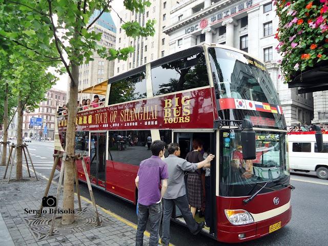 Tour of Shanghai Bus