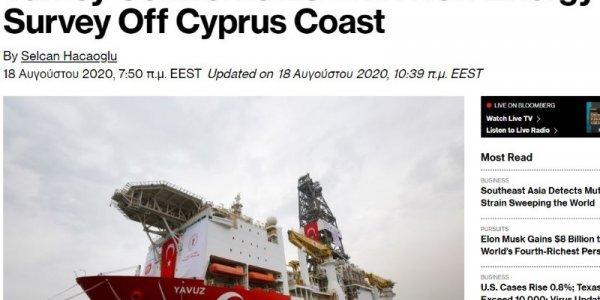 Bloomberg: Η Τουρκία προκαλεί και αψηφά τις προειδοποιήσεις της ΕΕ