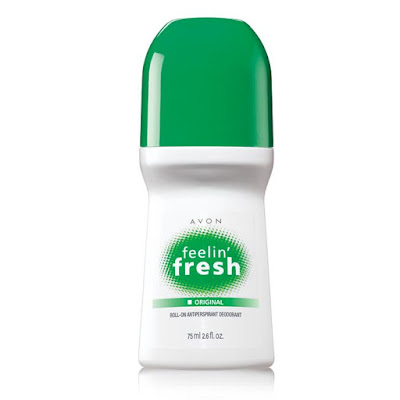 Avon Catalog - Feelin' Fresh Original Bonus Size Roll-On Antiperspirant Deodorant