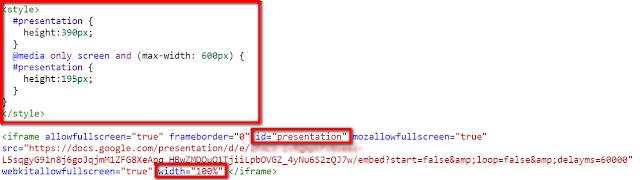 Slides Embed Code