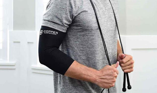 how compression sleeves help with tendinitis elbow pain