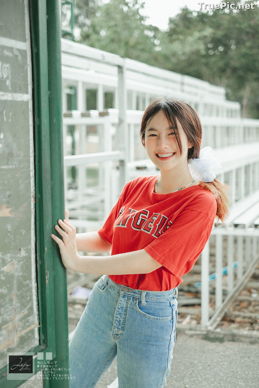 Image Thailand Cute Model - Fahfab Thunchanok - Red Angels - TruePic.net - Picture-4
