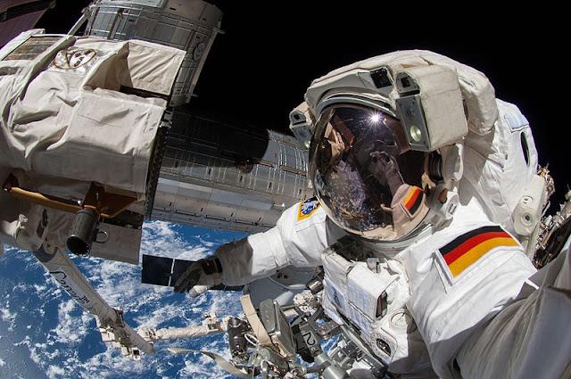 Astronauta registra fotos incríveis de como é o nascer do sol no espaço