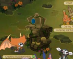 Image result for animal jam zios statue beta