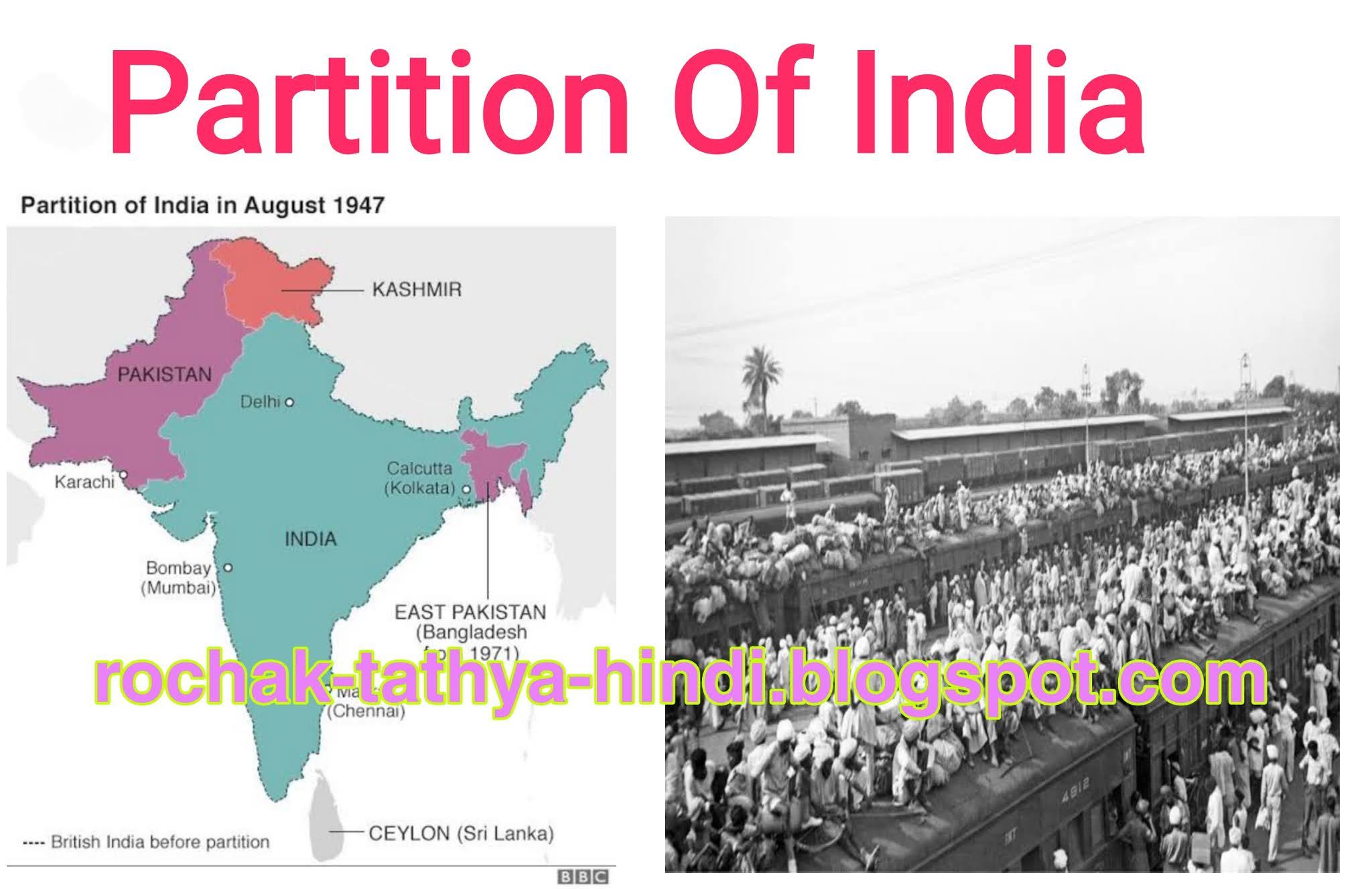 How the partition of India came, let us know important interesting facts related to the partition of India.