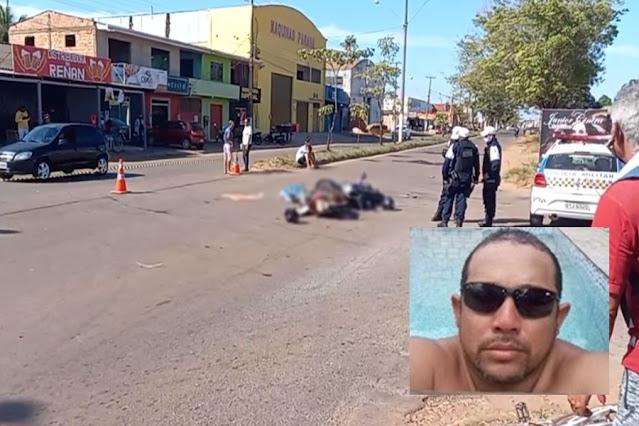 URGENTE: Motociclista morre em grave acidente na zona leste da capital