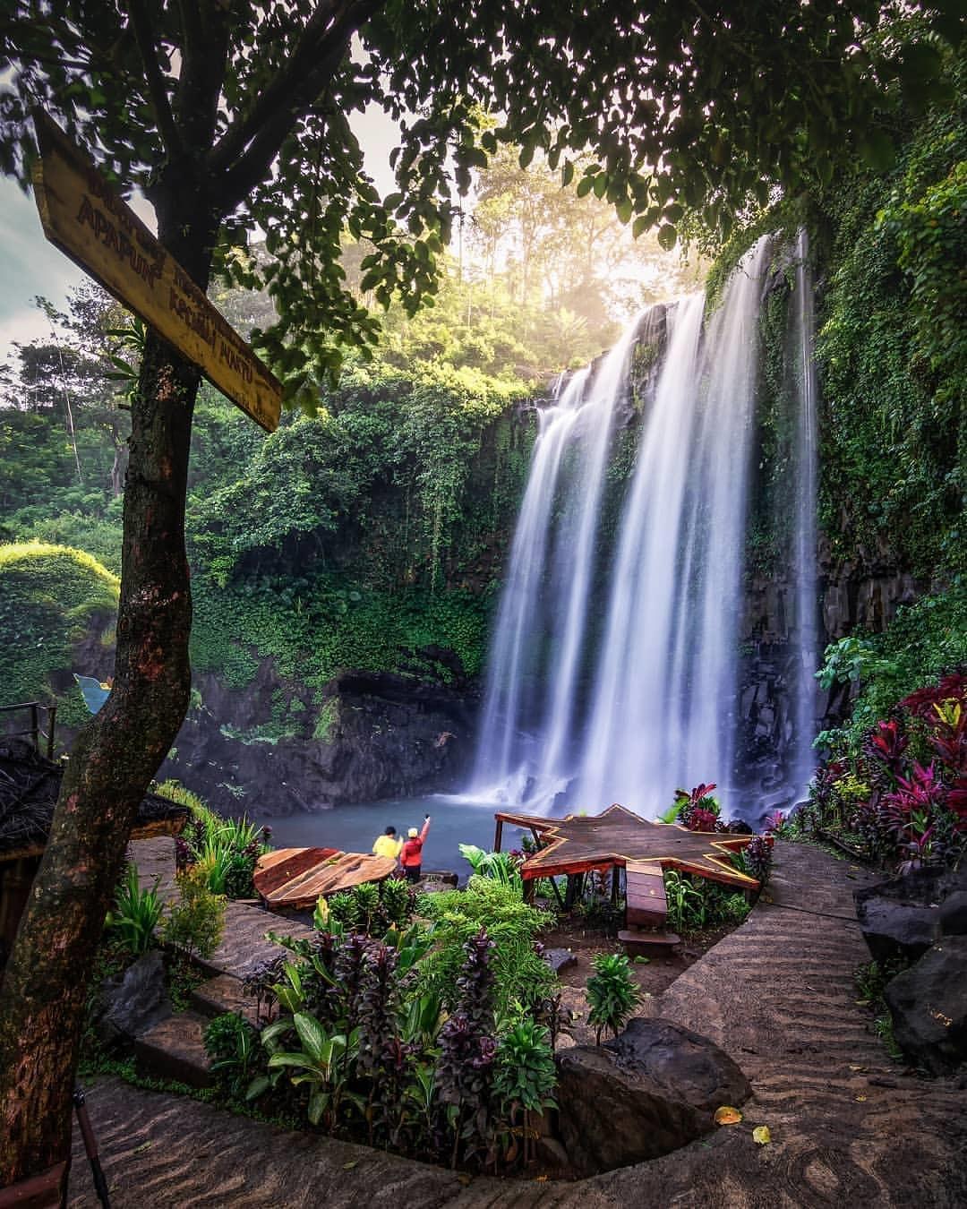 Coban Srengenge Ampelgading Malang Jawa Timur