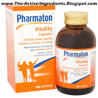 Pharmaton Capsules a Quick relief of tiredness and fatigue
