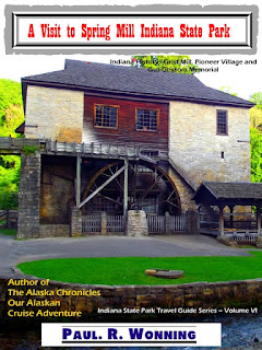 spring mill state park, indiana state parks, family friendly, indiana camping, indiana history, pioneer village, grist mills