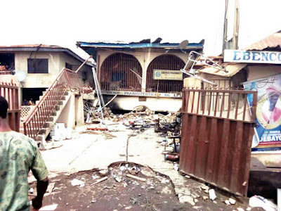Explosion Rocks Ife, One Killed, Building Destroyed