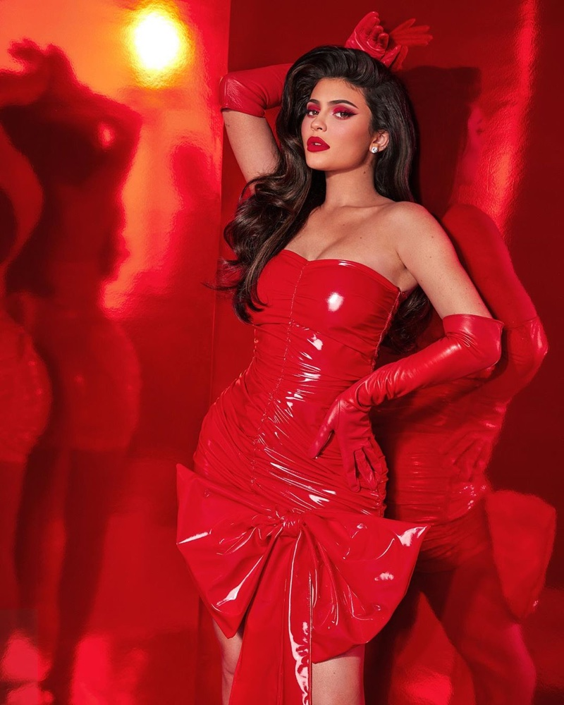 Kylie Jenner stars in Kylie Cosmetics Holiday 2019 campaign