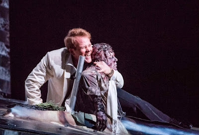 Andrii Goniukov, Duncan Rock - Don Giovanni - Glyndebourne on Tour - photo Tristram Kenton