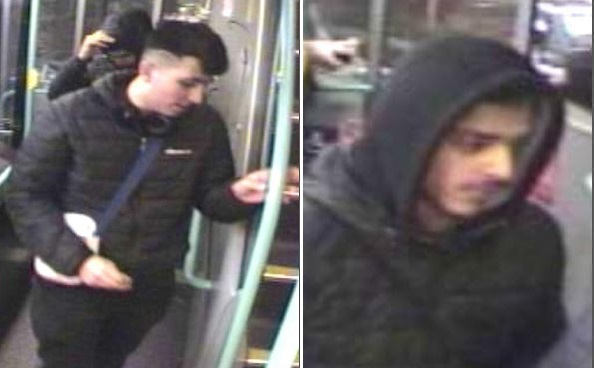 Two men sought over 'serious' attack with an object on a man on the 640 bus at Bradford Interchange in February