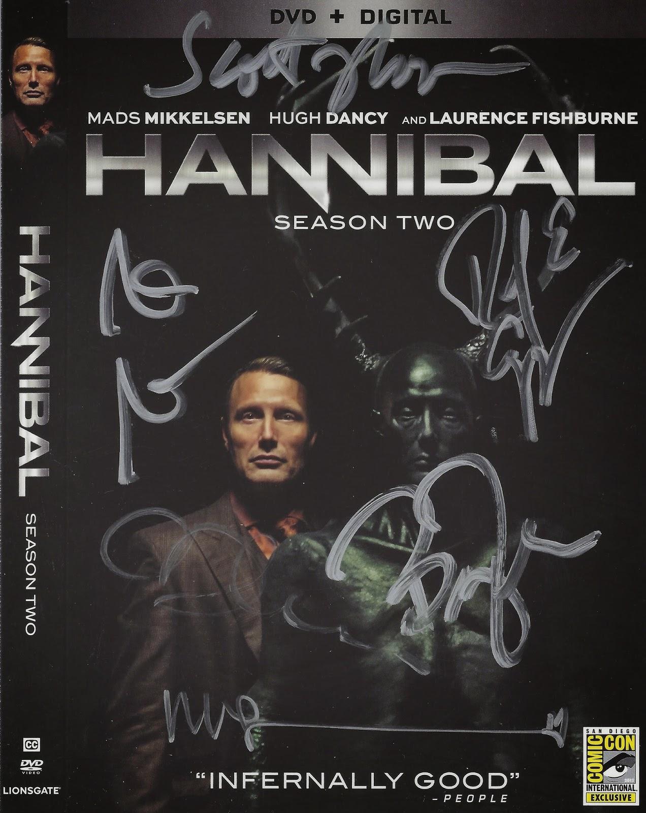 Hannibal Signing Lionsgate #SDCC 2014   Autograph Hound's Blah Blah Blog