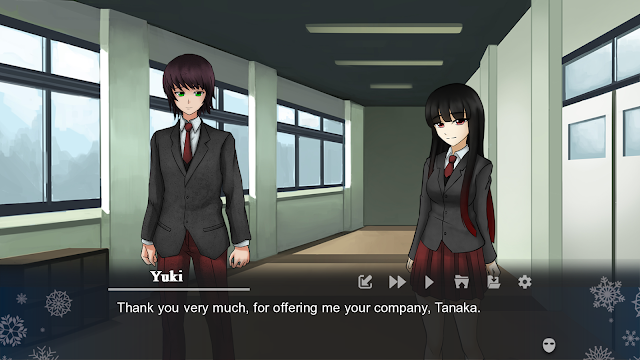 Winter's empty mask Visual Novel for PC and Android 03