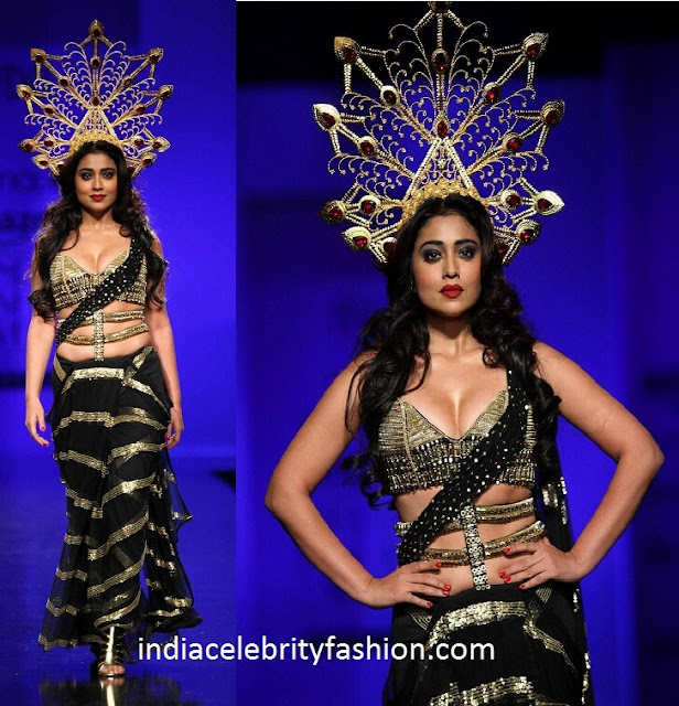 Shriya Saran in Annaika at AIFW Day 2