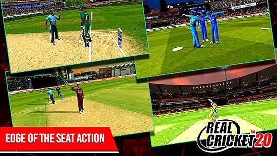 Real Cricket 20 (RC20) Mod Apk Download