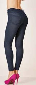 d5e167063 Estrela da Manhã  Legging Jeans Demillus