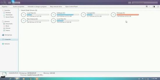 Windows 7 Blue Core Download