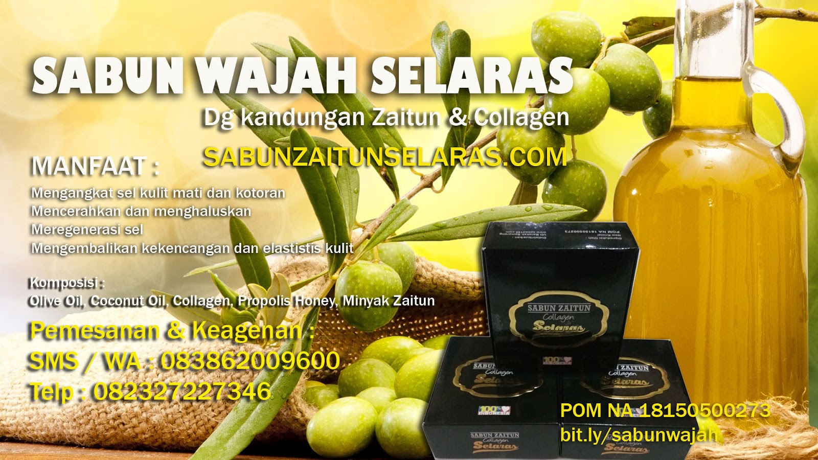 Sabun Herbal Zaitun Collagen Yogyakarta 083862009600 5f0e243csabun Produk Kologen Speed150 Daerah Istimewa Meliputi Area 1 Kabupaten Bantul 2